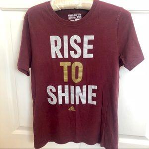 Adidas go to tee girls short sleeve graphic tshirt